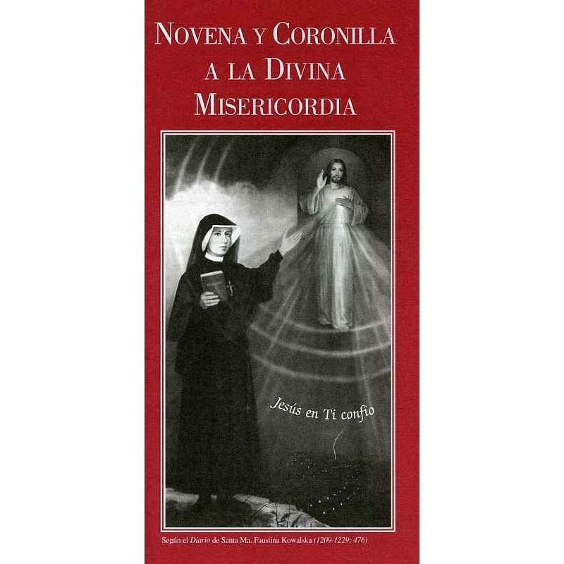 FOLLETO NOVENA Y CORONILLA A LA DIVINA MISERICORDIA