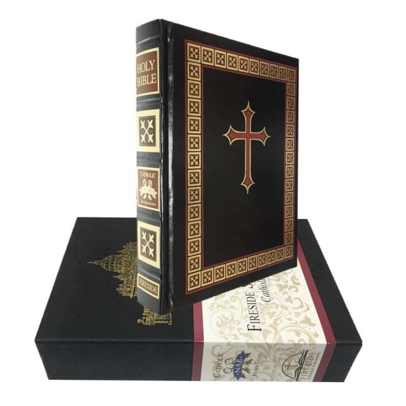 CATHOLIC FAMILY BIBLE - BLACK