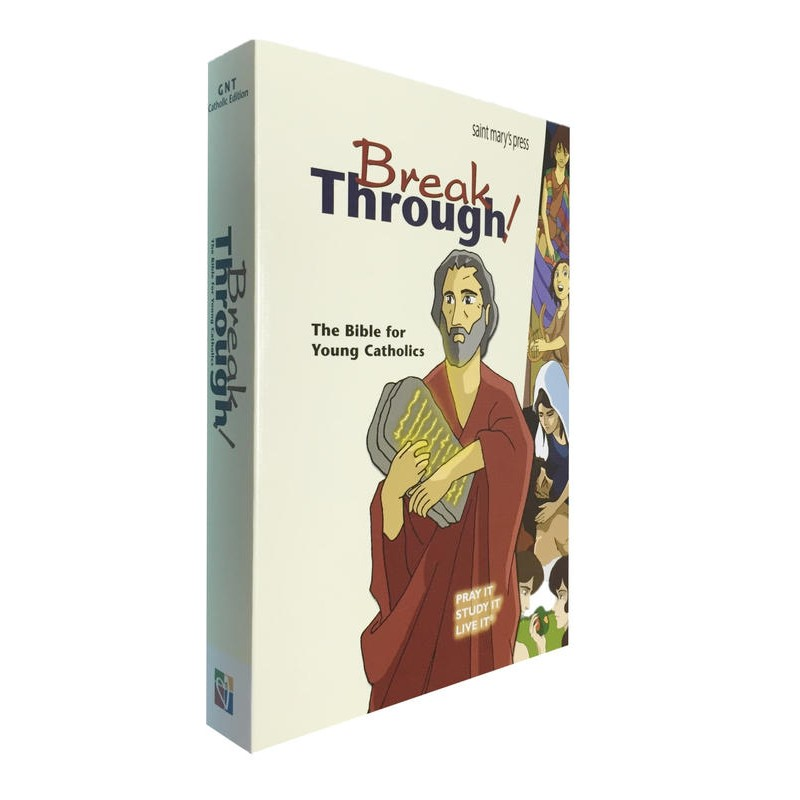 BREAK THROUGH THE BIBLE FOR YOUNG - SOFT COVER