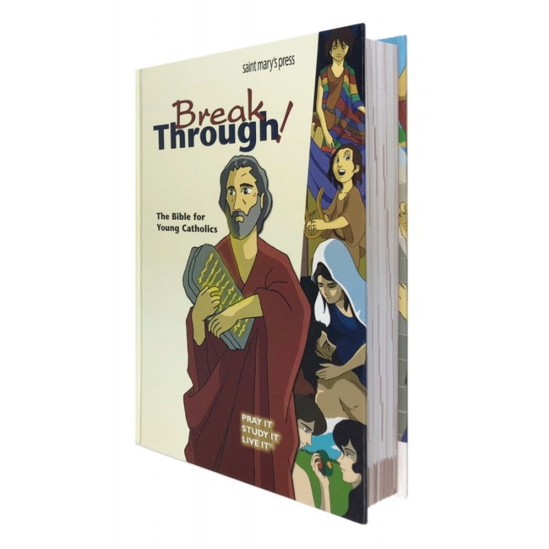 BREAK THROUGH - THE BIBLE FOR YOUNG - HARD COVER