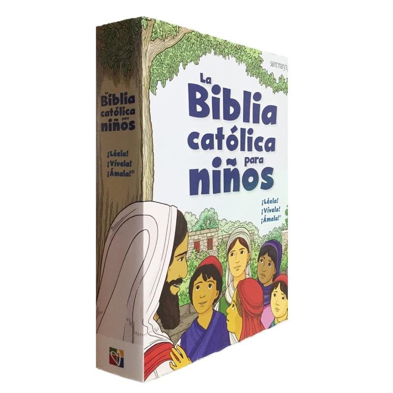LA BIBLIA CATÓLICA PARA NIÑOS PASTA SUAVE