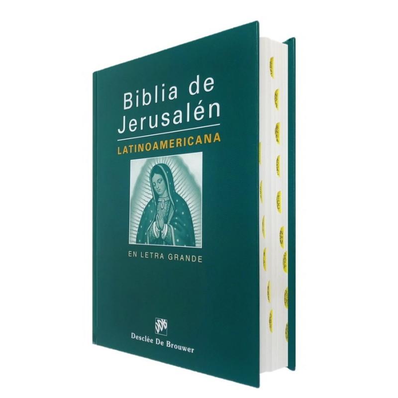 BIBLIA JERUSALEN. LATINOAMERICANA LETRA GRANDE