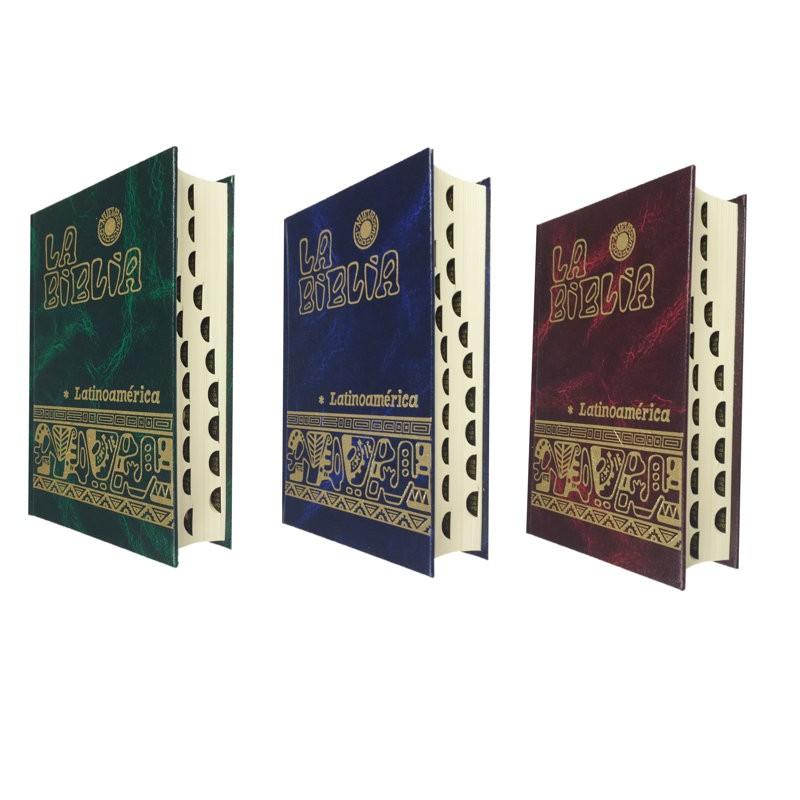 BIBLIA LATINOAMERICANA BOLSILLO CON INDICES