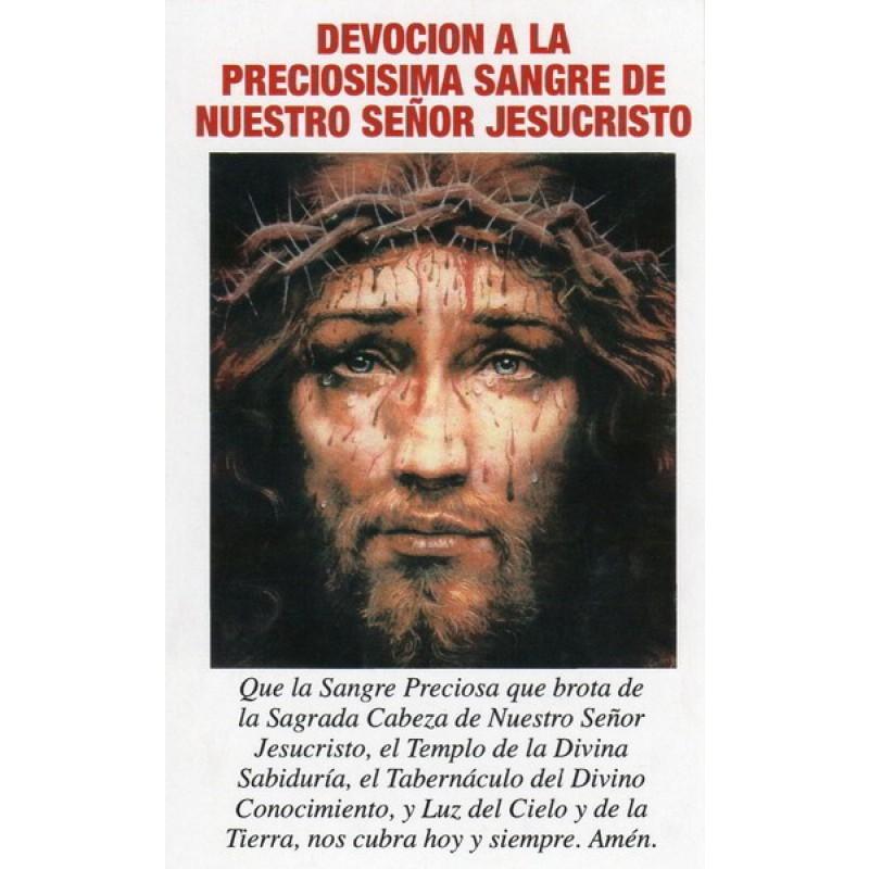 DEVOCIÓN PRECIOSA SANGRE DE JESUCRISTO
